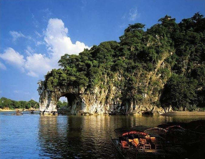桂林景点景区-象鼻山