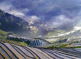 桂林-山水-龙脊梯田