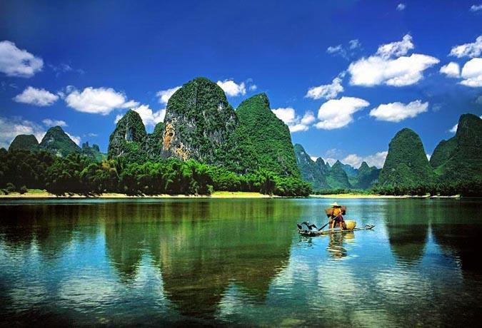 桂林景点景区-兴坪风光