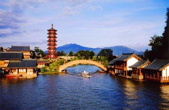桂林景点景区-木龙湖公园