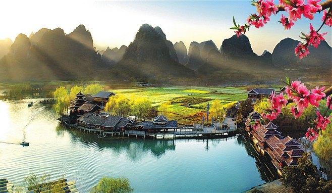 桂林景点景区-世外桃源