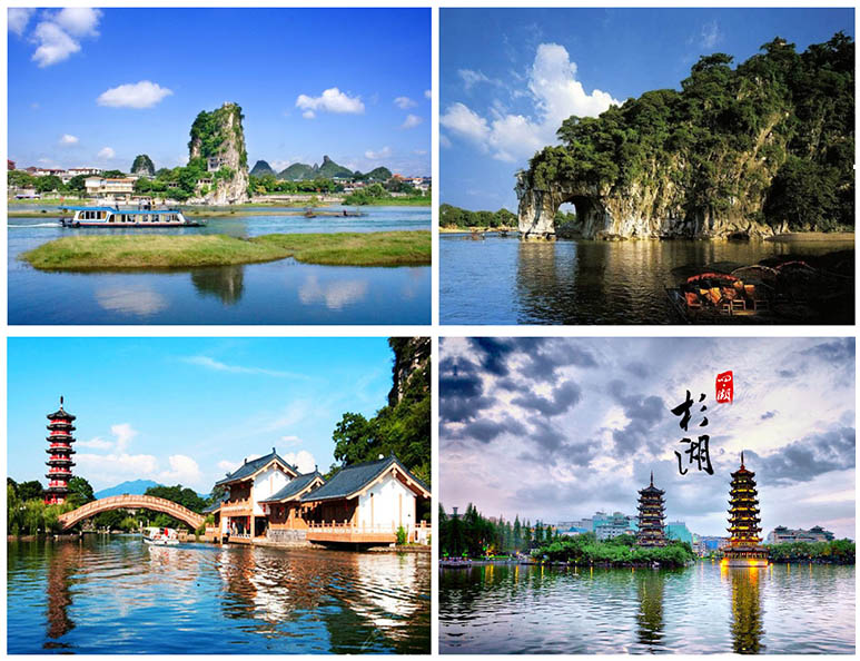 桂林景点景区-一江四湖