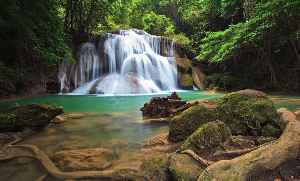 桂林景点景区-古东瀑布