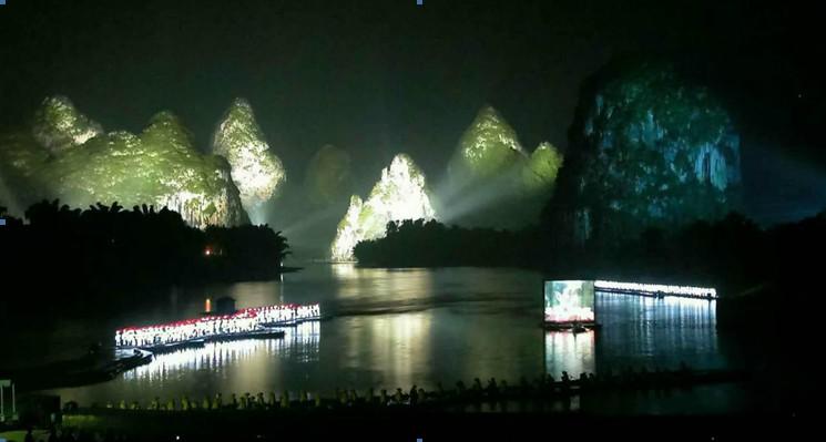 桂林景点景区-印象刘三姐