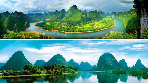 桂林景点景区-漓江风光